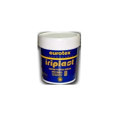 EUROTEX PINTURA PLASTICA IRIPLAST PETREO LISO PROFESIONAL 25KG