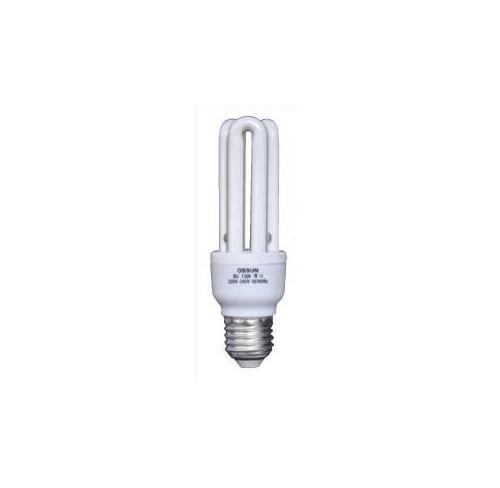 OSSUN LAMPARA BAJO CONSUMO MINI 3U. E14. 15W. 6400K
