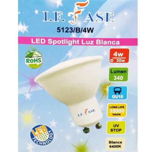 FASE  LED SPOTLIGHT BLANCA. 5123/B/4W