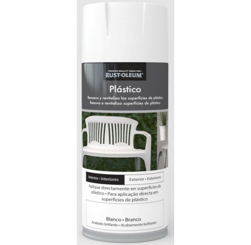 RUST-OLEUM PLASTICO BLANCO  SPRAY 400ML