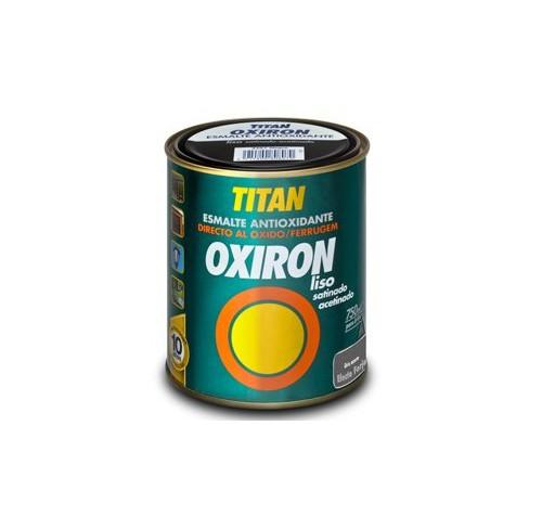 TITAN OXIRON  EFECTO FORJA GRIS ACERO  750ML