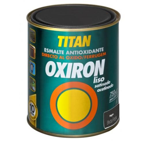 TITAN OXIRON  ACERO EFECTO FORJA NEGRO 750ML