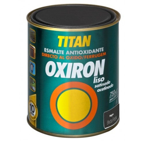 TITAN OXIRON  SATINADO GRIS MEDIO 750ML