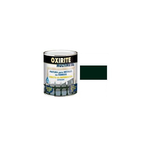 XYLAZEL OXIRITE MULTIMETAL SATINADO VERDE OSCURO 750ML