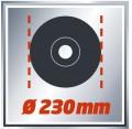 AMOLADORA EINHELL TE-AG 230