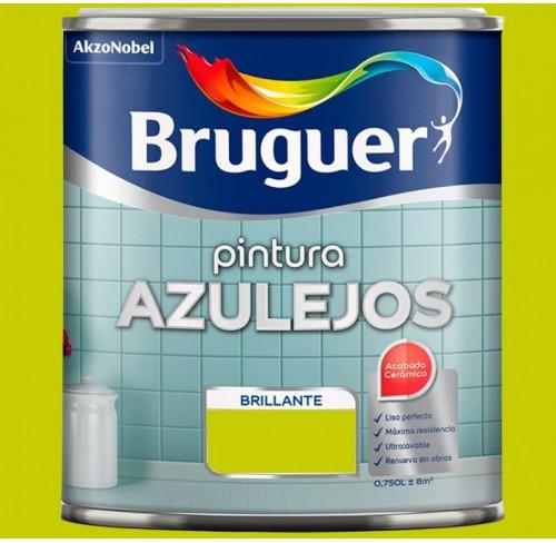 BRUGER PINTURA AZULEJOS AZUL EGEO 750ML