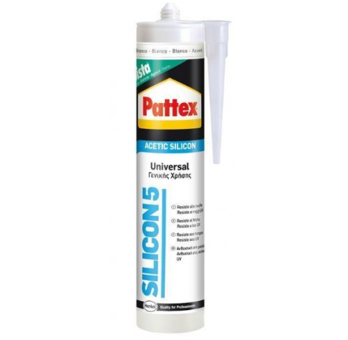 PATTEX SILICONA BLANCA 280ML