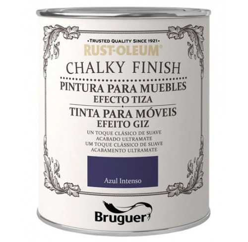 BRUGUER CHALKY FINISH AZUL INTENSO