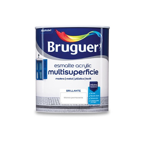 BRUGUER MULTISUPERFICIES BRILLANTE BLANCO PERMANENTE 750ML