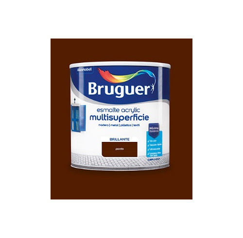 BRUGUER MULTISUPERFICIES BRILLANTE PARDO 750ML