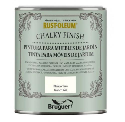 BRUGUER CHALKY FINISH MUEBLES JARDÍN BLANCO TIZA