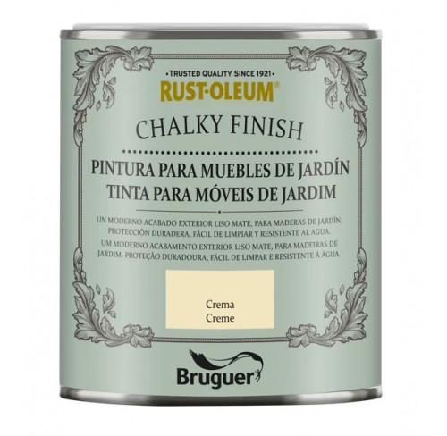 BRUGUER CHALKY FINISH MUEBLES JARDÍN CREMA