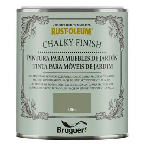 BRUGUER CHALKY FINISH MUEBLES JARDÍN OLIVA