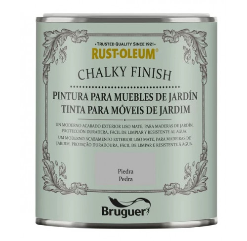 BRUGUER CHALKY FINISH MUEBLES JARDÍN PIEDRA