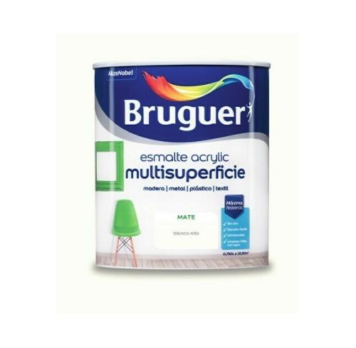 BRUGUER MULTISUPERFICIES MATE BLANCO ROTO 750ML