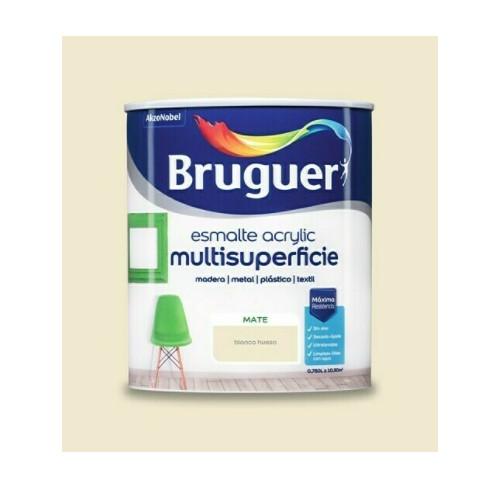 BRUGUER MULTISUPERFICIES MATE BLANCO HUESO 750ML