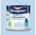 BRUGUER MULTISUPERFICIES MATE AZUL PASTEL 750ML