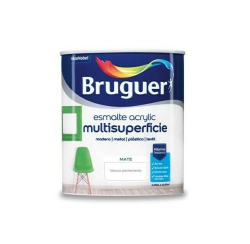 BRUGUER MULTISUPERFICIES MATE BLANCO PERMANENTE 750ML